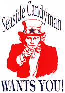 Seaside Candyman Logo