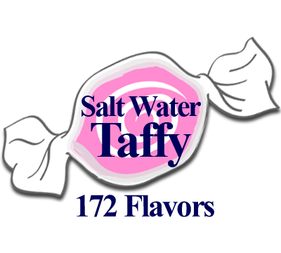 180 Flavors of Salt Water Taffy